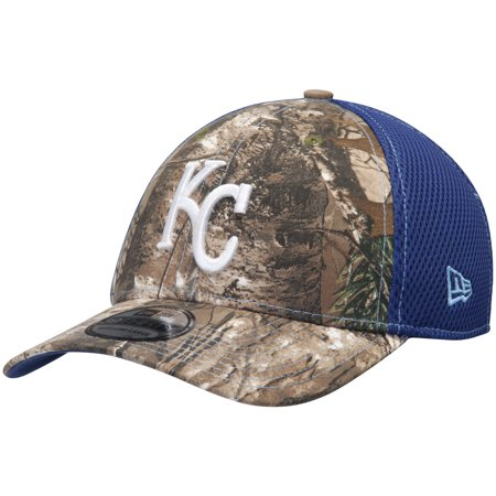 Kansas City Royals New Era Neo 39THIRTY Flex Hat - Realtree Camo Royal -  Walmart.com ea19206459c