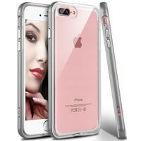 iPhone 8 Plus Case, Apple Phone 8 Plus Clear Case, iPhone 7 Plus Clear Case, Njjex Crystal Transparent Clear Flexible Shock Absorption Bumper Soft Gel TPU Cover For iPhone 7/8 Plus 5.5 Inch