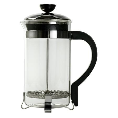Primula Clic Coffee French Press 8 Cup 32 Oz Chrome