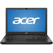 "Acer Black 15.6"" TravelMate P256 Laptop PC with Intel Core i5-4210U Processor, 4GB Memory, 500GB Hard Drive and Windows 7 Professional"