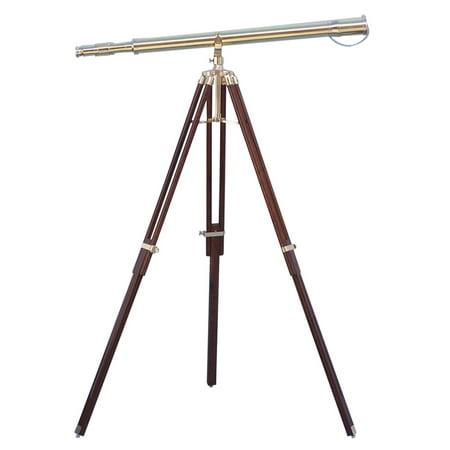 """Floor Standing Brass Galileo Telescope 62"""""""