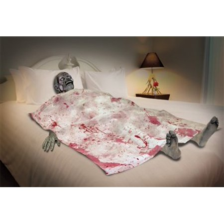 Bloody Death Bed Zombie Halloween Decoration