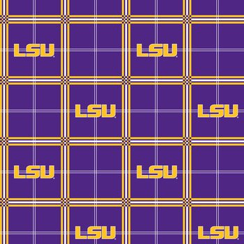 LSU Flannel Fabric-Sold by the yard - Lsu Store
