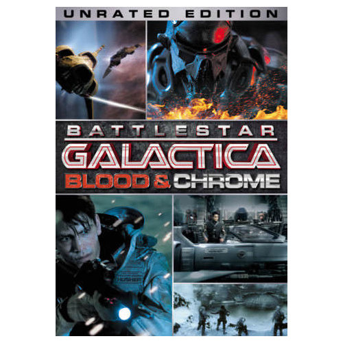 Battlestar Galactica: Blood and Chrome (Unrated) (2012)