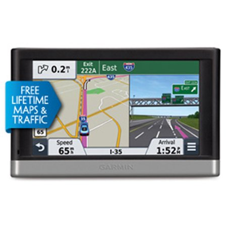 Garmin nuvi 2557LMT 5-Inch Portable Vehicle GPS with Lifetime Maps and Traffic](garmin nuvi 2455lmt 4.3 portable gps reviews)
