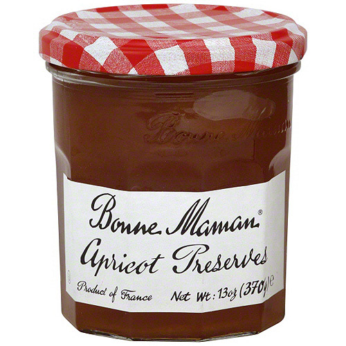 Bonne Maman Apricot Preserves, 13 oz (Pack of 6)