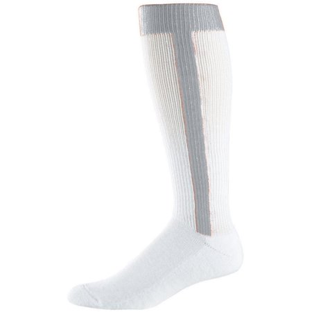 Augusta 6010 Baseball Stirrup Intermediate Socks Black Baseball Stirrup