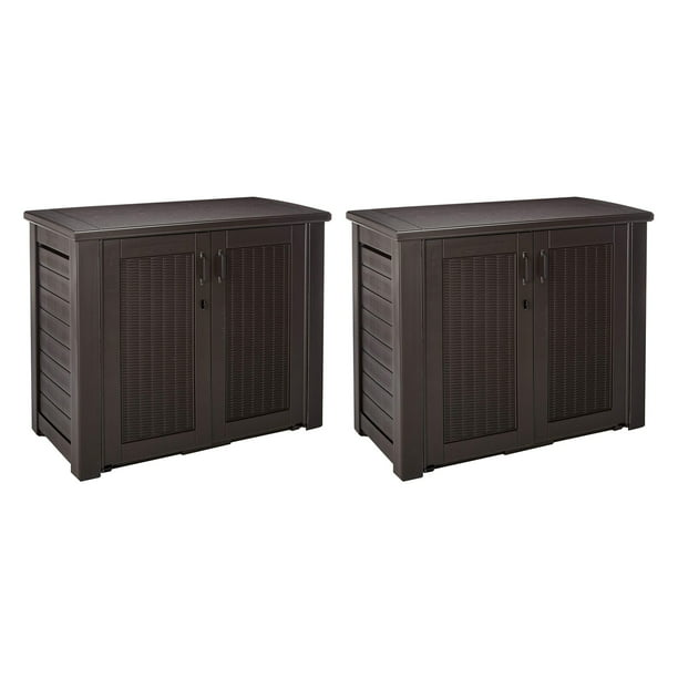 Rubbermaid Weather Resistant Resin, Outdoor Storage Cabinets For Patio