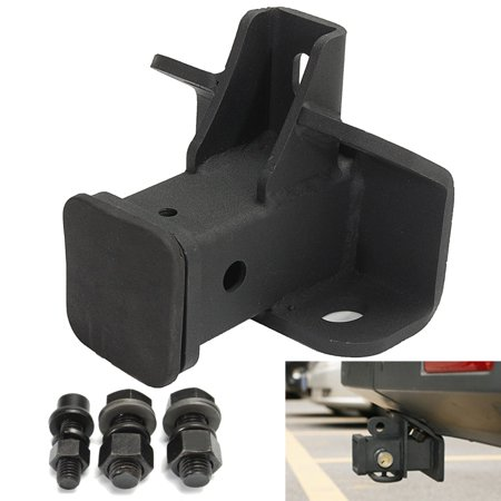 Tow Towing Trailer Hitch Receiver Black For Land Rover LR3 LR4 Range Rover Sport ()