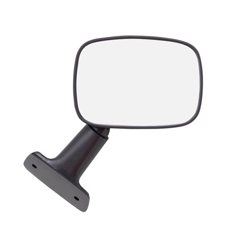- Passengers Manual Side View Mirror Textured Replacement for Toyota 4Runner Pickup Truck 8791089121