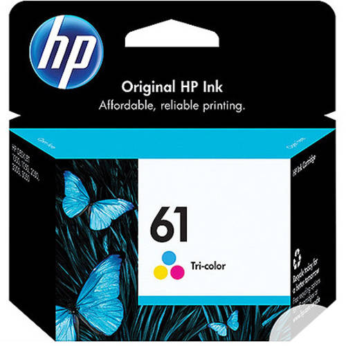 HP 61 Tri-color Original Ink Cartridge (CH562WN)