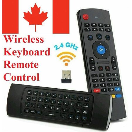 Wireless Keyboard Remote Control Air Mouse for Android TV Box Computer PC  PS4 | Walmart Canada