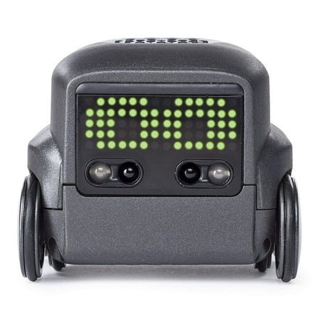 Boxer - Interactive A.I. Robot Toy (Black) with Personality and Emotions, for Ages 6 and Up