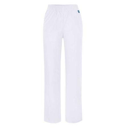 Adar Universal Classic Comfort Natural Rise Tapered Leg Pants Tall   502T   White   2X
