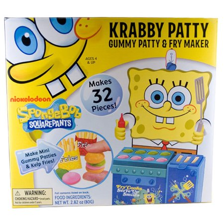 Cra Z Art Spongebob Krabby Patty Gummy Maker Walmartcom