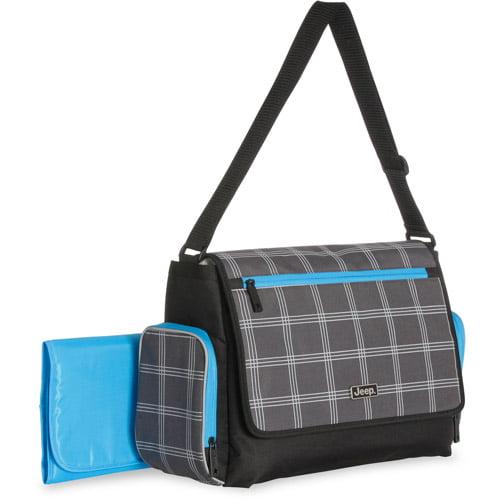 Jeep City Flap Messenger Diaper Bag