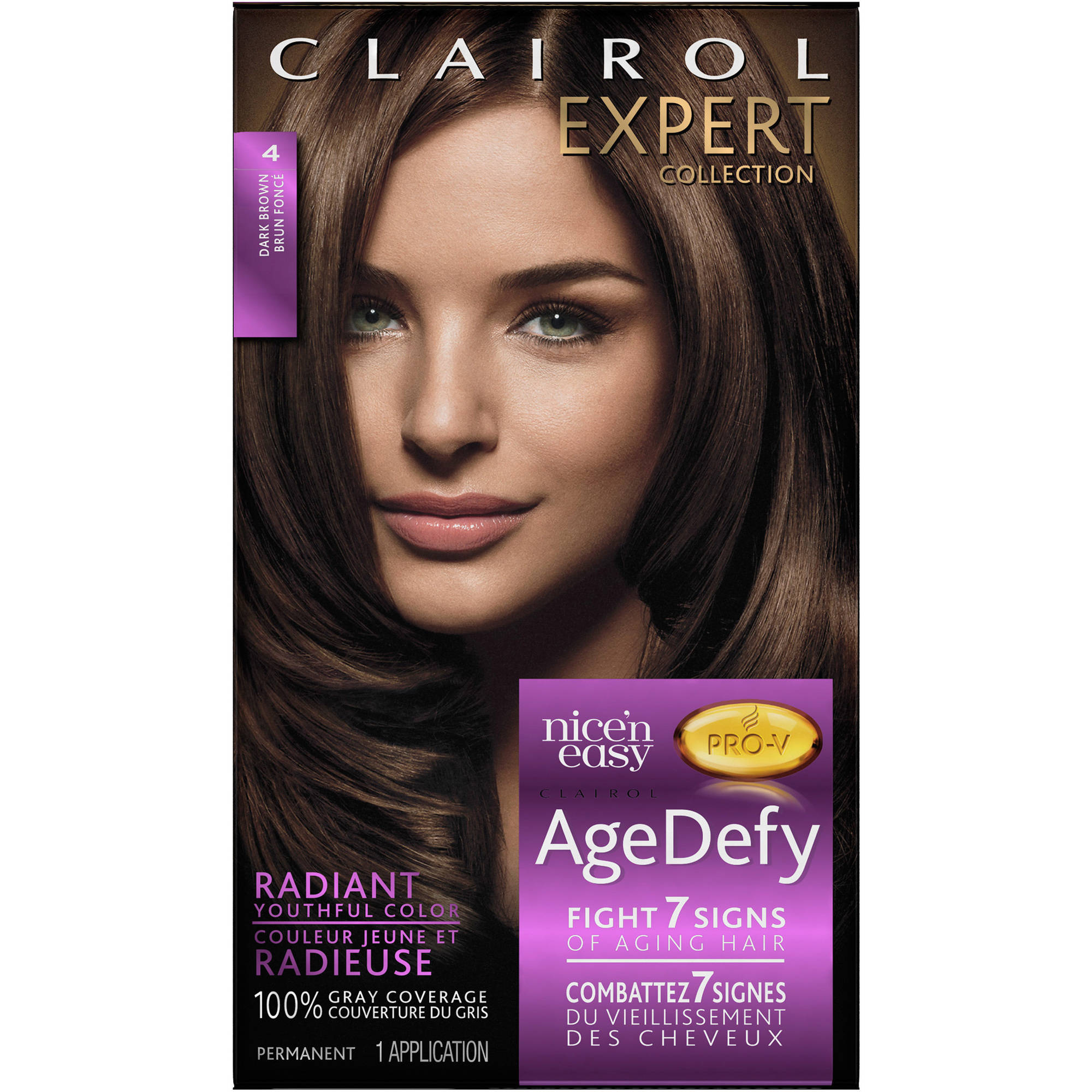 clairol age defy expert collection hair color walmart