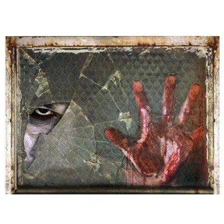 Sonew Halloween Wall Decal Creepy Ghost Hand Sticker Ktv Bar