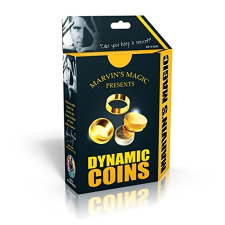 Marvin's Magic The Dynamic Coins Tricks