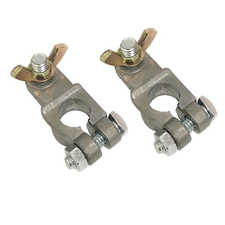 Car End Connector (2pc Marine Boat Battery Terminals End Connector w/ Wing Top Post Car Automotive, WennoW 2pc Marine Boat Battery Terminals End Connector w/.., By WennoW )