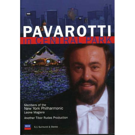 Luciano Pavarotti in Central Park (DVD)