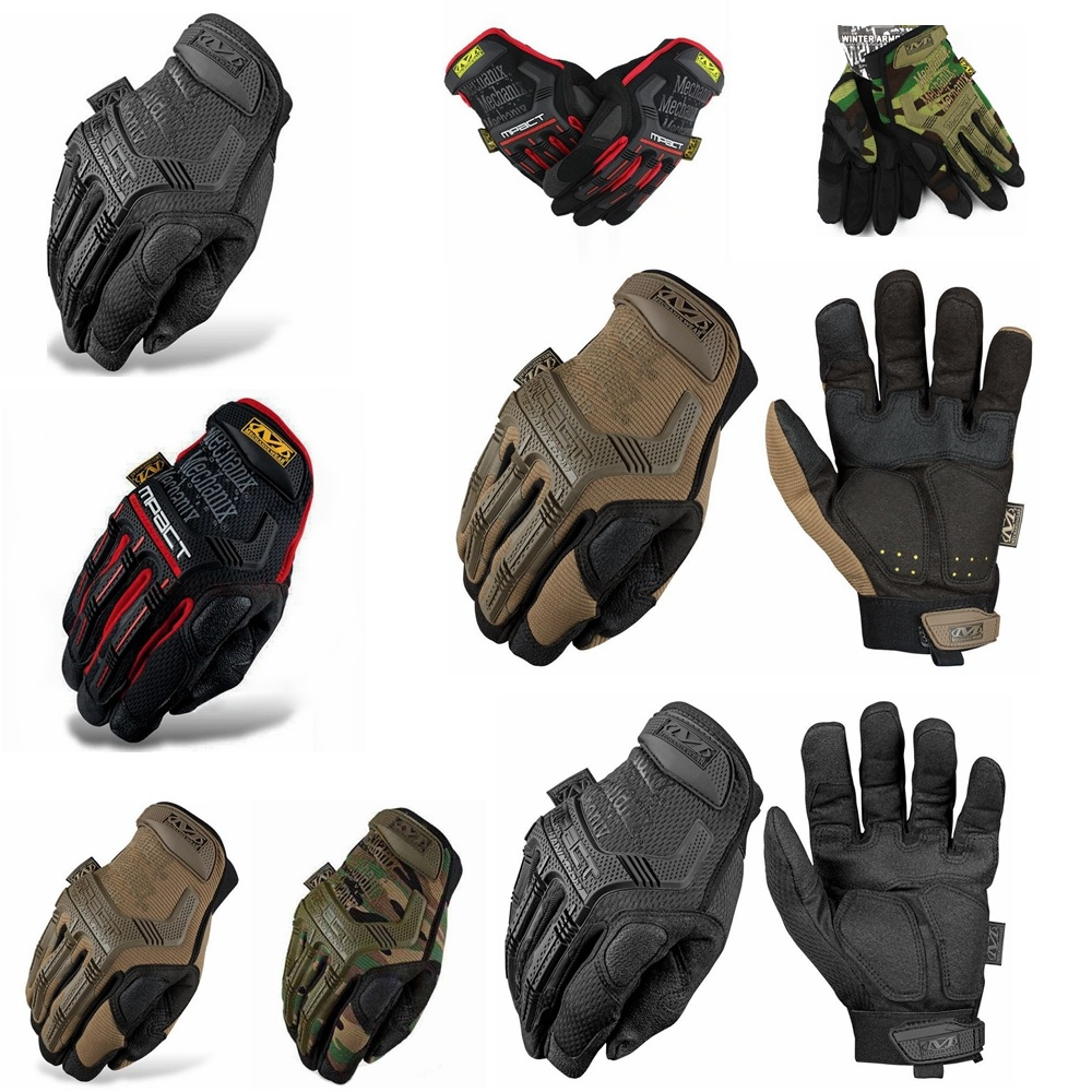 DYMADE Tactical Gloves Camouflage Military Tactical Airsoft Shooting Hunting Full Finger Gloves Mechanix