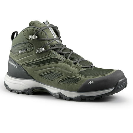 Quechua by DECATHLON - Men's Hiking Waterproof Shoes MH100 Mid
