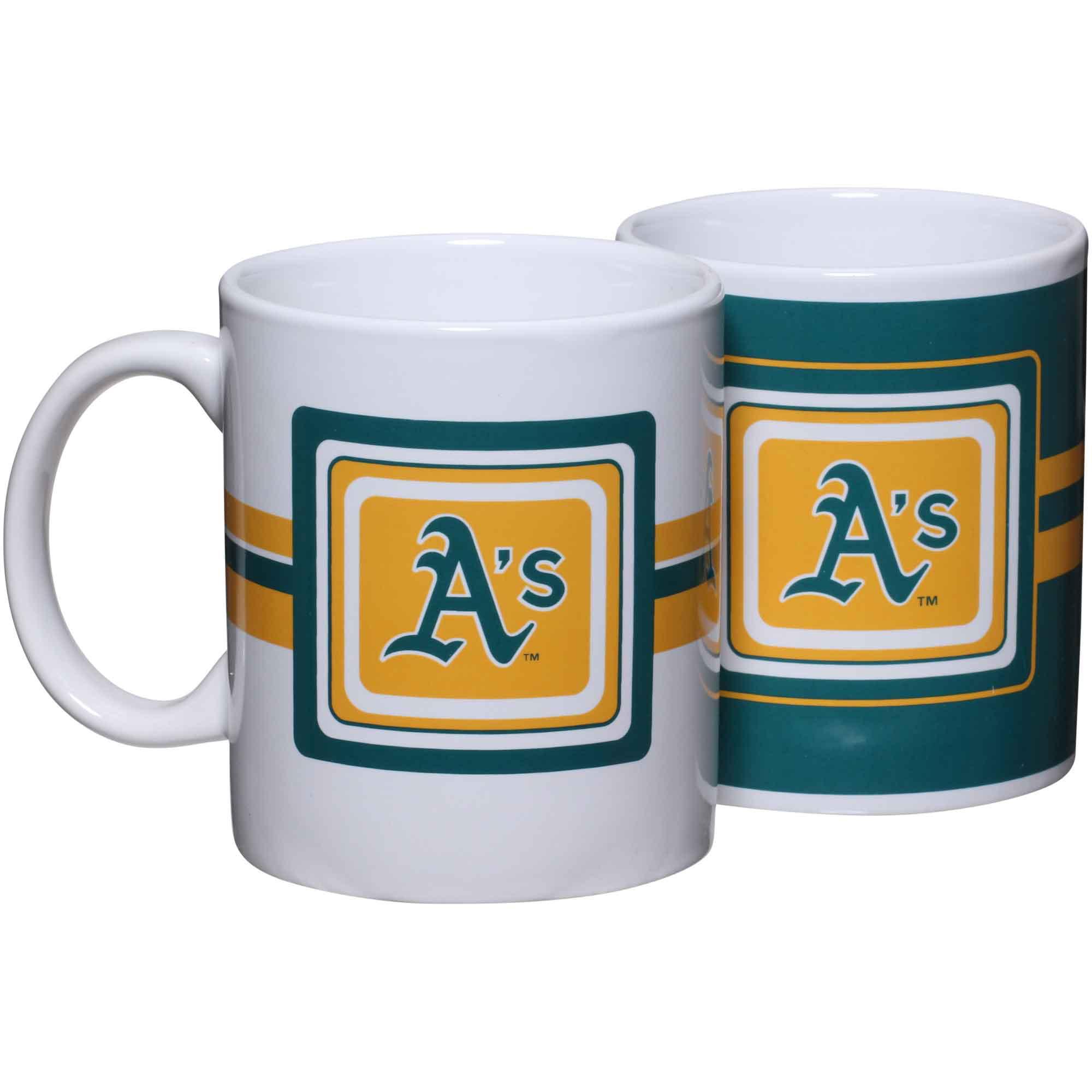 Oakland Athletics 11oz. Two-Pack Mug Set - No Size