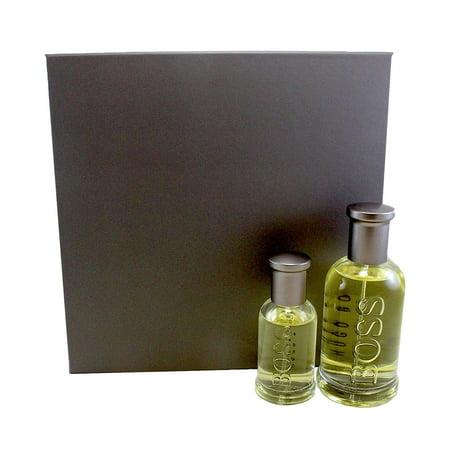 Boss 6 2 Pc. Gift Set Eau De Toilette Spray 3.3 Oz / 100 Ml + Eau De Toilette Spray 1.0 Oz / 30 Ml ) for Men by Hugo (Boss Femme Gift Set)