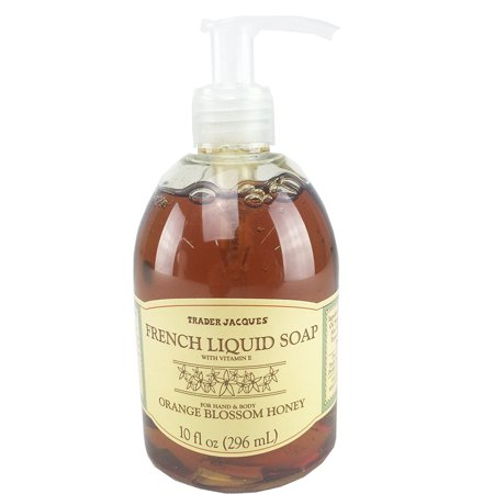 Trader Joes Trader Jacques French Liquid Orange Blossom Honey Hand and Body -