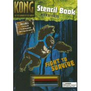 Kong Stencil Book with Sticker and Pens/Pencils