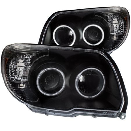 ANZO USA 111320 06-09 4RUNNER PROJECTOR HEADLIGHTS W/ U-BAR BLACK CLEAR