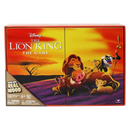 Retro '90s Disney Lion King Board Game - Deluxe Wooden Edition