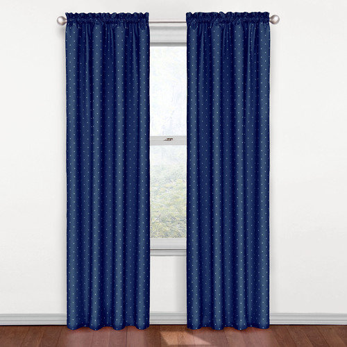 Eclipse Curtains Kids Rod Pocket Single Curtain Panel