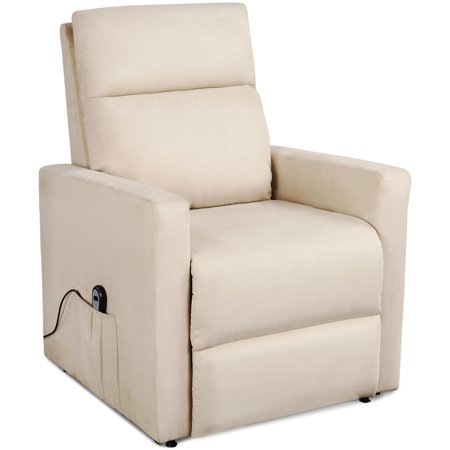 Remarkable Electric Recliner Chair Heavy Duty Power Lift Recliners For Elderly Wide Seat 375 Lb Capacity Bedroom Chair With 2 Side Pockets 2 Button Remote Spiritservingveterans Wood Chair Design Ideas Spiritservingveteransorg