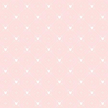 York Wallcoverings DI0979 Disney Mickey Mouse Argyle Wallpaper Pink