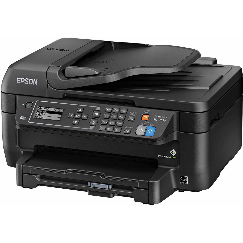 Epson WorkForce WF-2650 All-In-One Printer/Copier/Scanner/Fax Machine