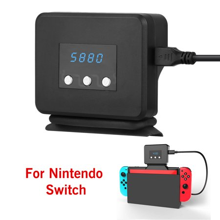TSV Air Extracting Cooling fan Fit for Nintendo Switch, with LED  Temperature Display, Compatible with Nintendo Switch Game Heat Sink