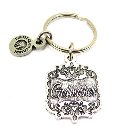 - Chubby Chico Charms Godmother Victorian Scroll Key Chain