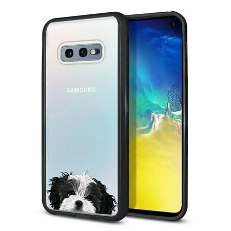 FINCIBO TPU Bumper Clear Hard Back Cover for Samsung Galaxy S10E G970 5.8
