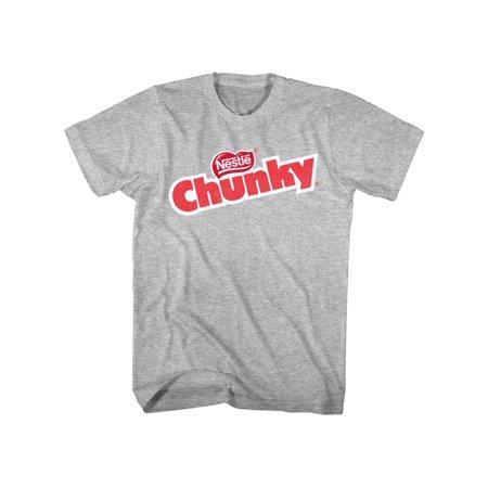 e2b17328f631a Nestle Chunky Logo Chocolate Bar American Classics Adult T-Shirt