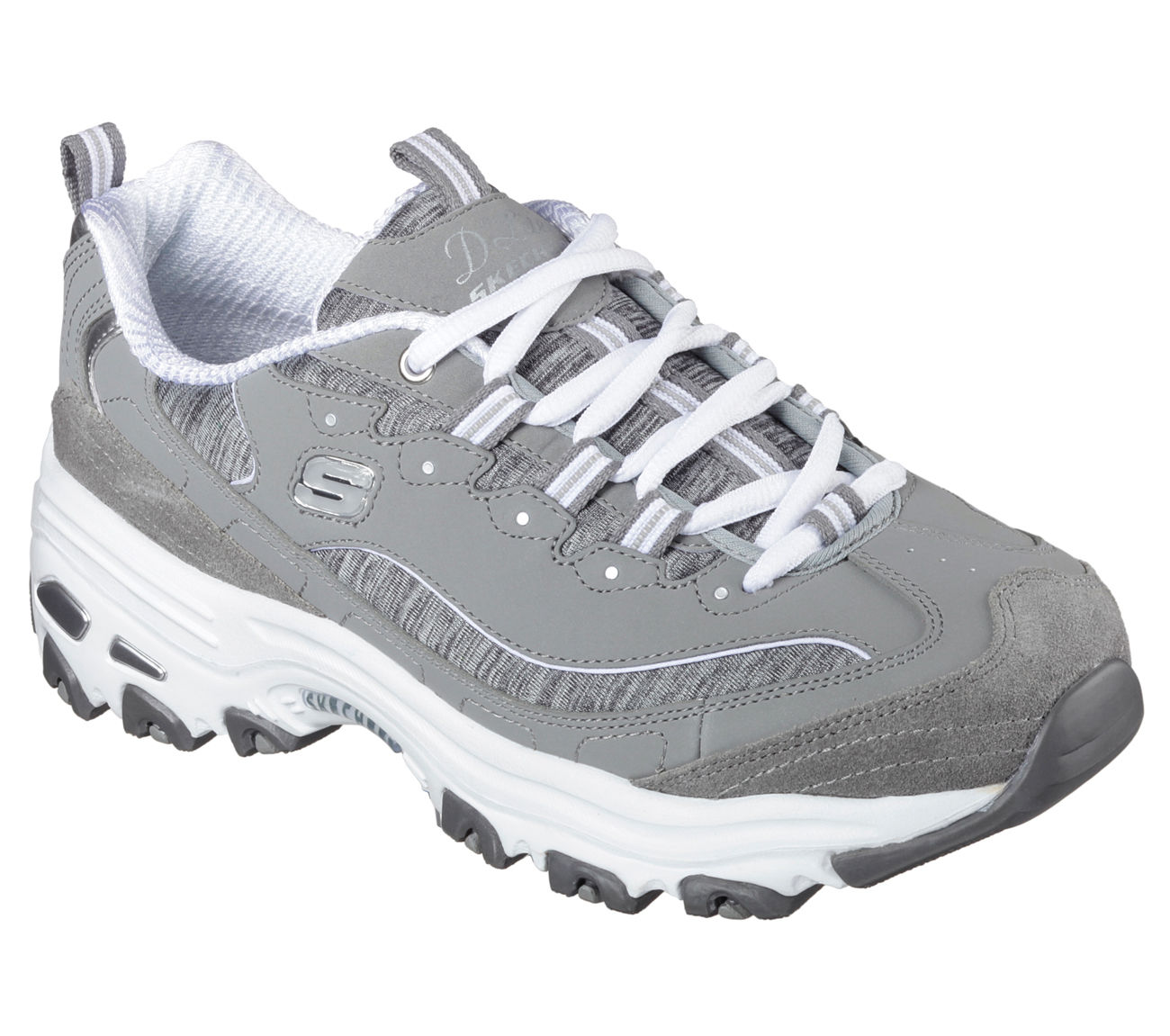 Skechers 11936 GYW Women's D'LITES-ME TIME Sneaker by Skechers