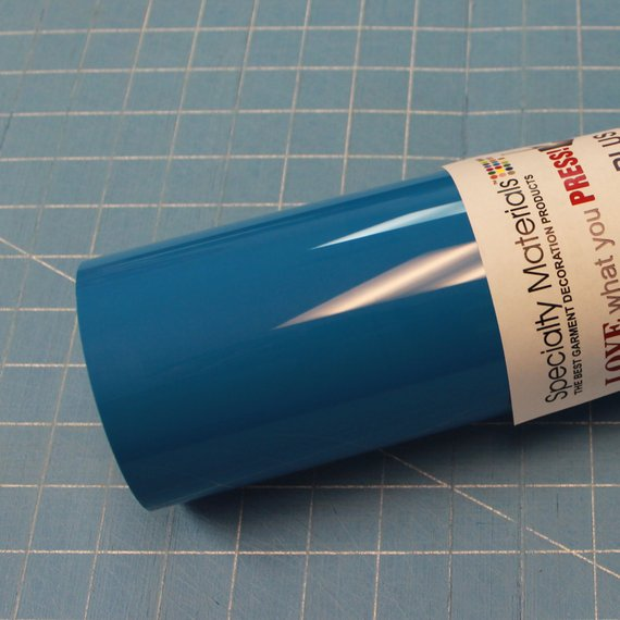 "Sapphire 15"" x 3' (feet) ThermoFlex Plus Heat Transfer Vinyl, HTV"