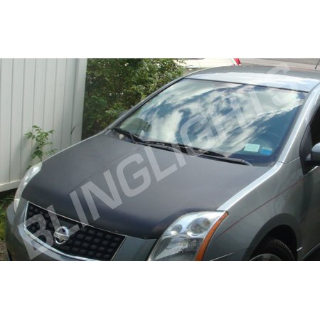New Nissan Altima Carbon Fiber Hood Overlay Body Film Kit Carbonfiber