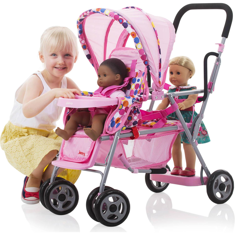 Joovy Caboose Toy Stroller Baby Doll Stroller Pink Walmart Com