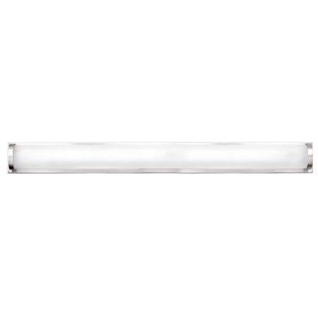 Hinkley Lighting 53844 2 Light ADA Compliant LED Bathroom Bath Bar with White Sh 2 Light Ada Bath