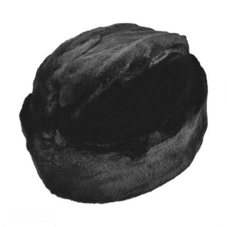 Cossack Faux Fur Hat - XXL - Black](Cossack Clothing)