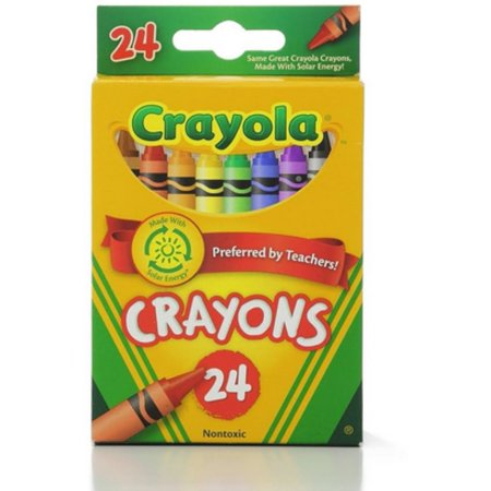 Crayola Classic Color Pack Crayons, Wax, 24 ea (Pack of - Box Of Crayons
