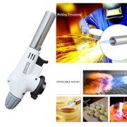 Flame Gas Torch Blow Torch Cooking AutoIgnition Butane Flame Gas Burner Lighter