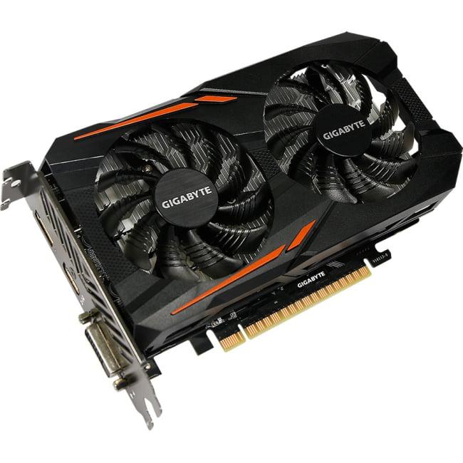 Gigabyte Geforce GTX 1050 2GB GV-N1050OC-2GD OC Graphic C...